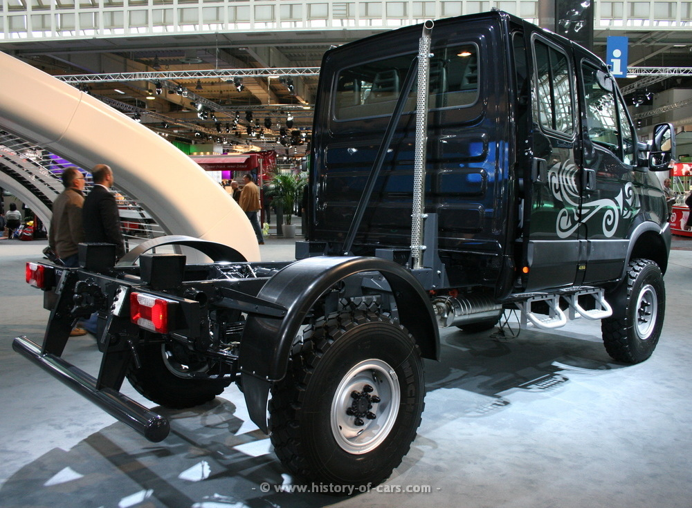 iveco 2008 daily 4x4 doppelkabine fahrgestell die. Black Bedroom Furniture Sets. Home Design Ideas