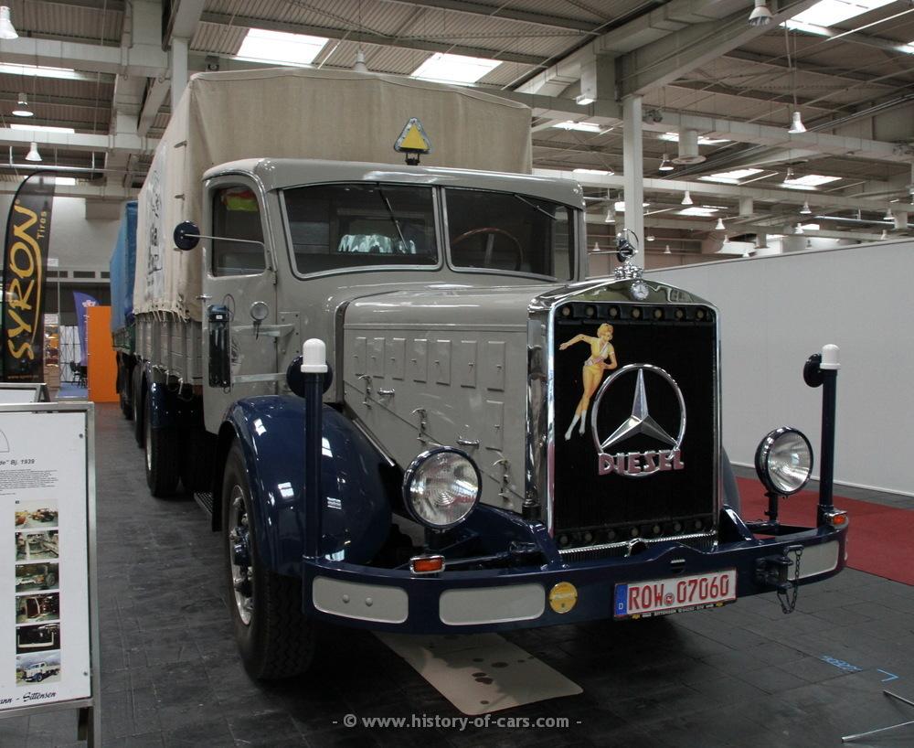 Mercedes benz 1939 l6500 pritsche die for Mercedes benz 6500