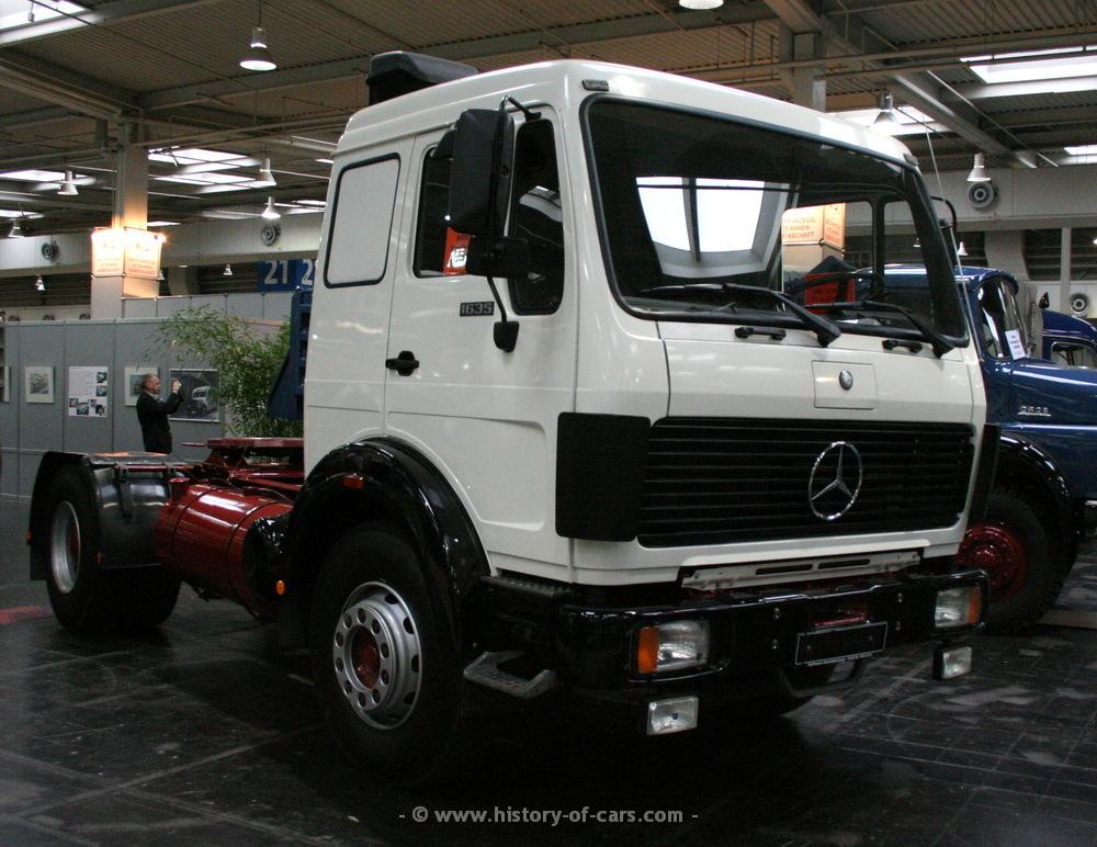 Mercedes benz 1985 ng85 1635s 4x2 sattelzugmaschine die for 85 mercedes benz
